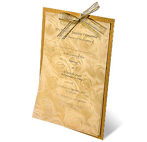 Parchment Wedding Invitations